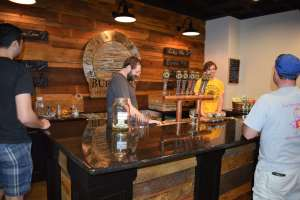 The Bur Oak Brewing Company Bar