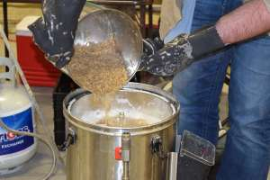 Working with the mash